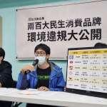 綠盟「掃出」污染企業 日男星代言茶飲代工廠被點名!