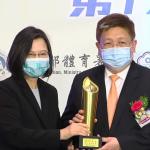 威剛運動彩券發行表現亮眼  獲頒體育推手獎金質獎