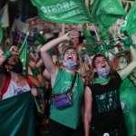 拉丁美洲性別平權里程碑!阿根廷墮胎合法化9度闖關 教宗方濟各故鄉終於跟上時代