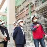 高市勞工局突檢台電工地 呼籲業者加強施工作業安全