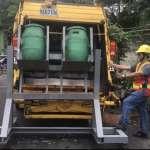 減少職業傷害 中市使用機械輔助廚餘桶搬運