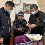 送暖被助獨居長者度寒冬 林蘭生基金會捐25床0全新棉被