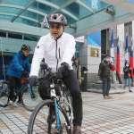 獨家》江啟臣、朱立倫、連勝文尬國民黨主席前先尬單車