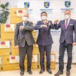 高雄外援30萬片口罩運抵斯洛伐克 陳其邁:攜手國際共同抗疫