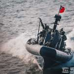兩棲偵搜大隊進行海上反特攻作戰操演 海軍特種作戰能量再現全新高度
