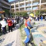 加強防範疫情 中市386所校園開學前全面消毒