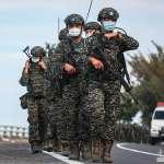 考驗國軍意志 海軍陸戰隊背20公斤裝備行軍40公里