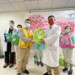 乳癌鬥士溫柔傳愛 中榮乳房腫瘤外科發起愛心捐尿布助創世植物人