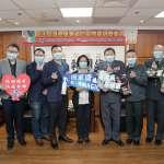 企業捐國軍防疫物資 國防部:軍民同心打贏抗疫作戰