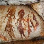 澳洲發現史前古老岩畫 1萬7千年前袋鼠栩栩如生、驚現形如蜥蜴的人類