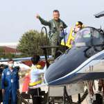 2勇鷹高教機試飛成功 漢翔董座親身同乘:超越測試,測的是空軍課目