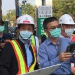 中博高架橋拆除工程第一個上班日 高市府加強交通疏導