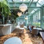 大安路老洋房中的綠意盎然,初衣食午Café推出以法式小酒館為概念的全新菜單