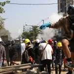緬甸反政府示威持續抗爭,盛傳一民盟官員羈押期間被打死