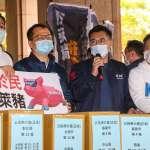 萊豬公投達標送中選會 民進黨痛批江啟臣:不擇手段操作政治對立