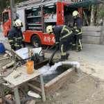 水情嚴峻 彰化縣消防局舉行開源節流搶救演練