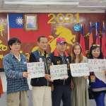 黃復興黨部委員榮中竹宣布參選國民黨主席 籲江啟臣兌現降低門檻