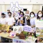迎紫斑蝶來到彰化 縣府辦一導覽、二成果、三重送