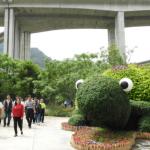 橋聳雲天綠雕園區化水泥叢林成生態綠園 中央地方合作新典範