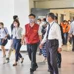 林口康橋6日將復課  教育局率隊到校關心停課期間遠距教學及復課準備