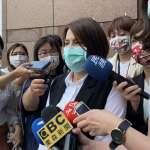 火爆!當蔡英文面告王美惠「黑道入黨」 綠色友誼黃露慧:刀都架在我身上了