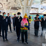 防疫升級 高市環保局加強公眾場域環境消毒