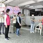 王惠美感謝國軍支援 重點區域消毒確保居家環境安全