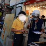 落實防疫新措施 環保局晚間全面執行「不戴口罩拒收垃圾」