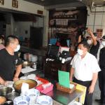 禁止現場飲食   南投防疫指揮官突檢直擊業者