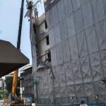 高市三民區拆除工地鷹架掉落 工務局立即勒令停工