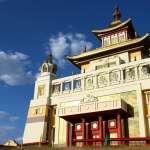 歐洲唯一藏傳佛教地區:俄羅斯卡爾梅克共和國
