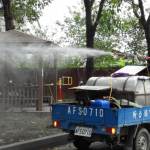 落實防疫強化環境清潔 縣府鄉鎮協力逐里大街小巷持續消毒