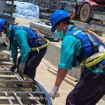 高溫炎熱 高市勞工局提醒「戴口罩多喝水多休息」
