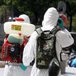陸軍化學兵全台清消 背上的「防護包」究竟葫蘆裡賣什麼藥?