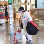 國難當頭,桃機變熱鬧 他解析離境旅客年齡層:赴美打疫苗不是最大宗