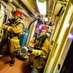 疫情下海軍戰術總驗收 口罩搭面罩展現堅實戰力