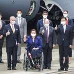 美國參議員乘軍機高調訪問台灣 北京跳腳提「嚴正交涉」