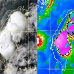 雷達回波圖一片紫,雨卻未下在集水區!德基水庫8日僅增台中1天半用水