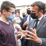 堂堂總統遭民眾甩巴掌!法國政壇集體聲援馬克宏:民主是辯論,不是肢體攻擊