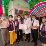 高雄市醫師公會攜手獅子會及在地企業 捐贈正壓檢疫亭予大同醫院