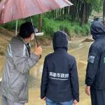 西南風影響高雄豪雨 環保局防災防疫總動員