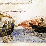 澆不滅的海上野火,一噴發瞬間燒毀無敵艦隊…揭拜占庭帝國所向披靡的超強武器
