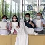 鄭宏輝:新竹縣市合作捐贈防護衣 守護竹科產業、挺醫護