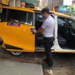 「防疫逗相挺」    高雄市計程車防疫物資補助開始申請