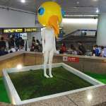 台北車站「地標」鳥人被悄悄撤下,創作者說話了!
