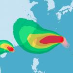 烟花直逼台灣本島!專家指4跡象不妙 激似「不能說出名字的颱風」