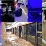 驚恐地鐵列車:水淹肩膀、車廂停電!「千年一遇」豪雨強襲河南鄭州地鐵 官媒:「烟花」颱風引進大量水氣所致