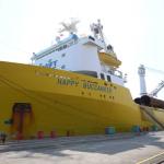 台船公司製造首批水下基樁完工交件 海工事業新里程碑