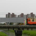 高雄岡山捷運開展施工新紀元 跨阿公店溪橋推進定位
