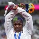 「所有黑人同胞、LGBTQ群體、面對心理問題的人,我向你們致敬!」東奧鉛球銀牌得主桑德斯高調發言惹議